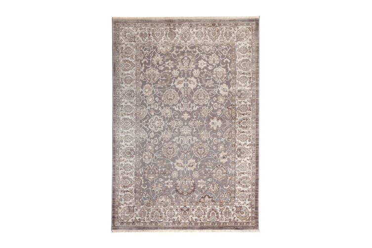 97x150cm Khed Grey Indoor Rug, Area Rug, Floor Rug