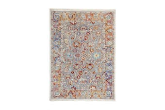 Mau Multicolour Grey Indoor Rug, Area Rug, Floor Rug