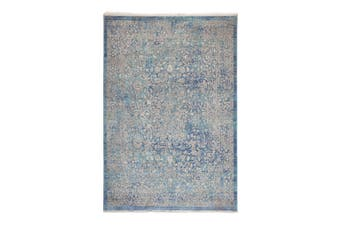 97x150cm Namur Blue Indoor Rug, Area Rug, Floor Rug
