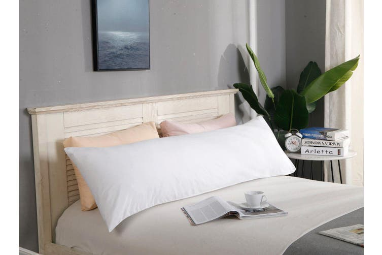1000TC Premium Ultra Soft Body Pillowcase - White