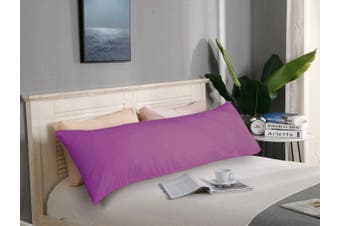 1000TC Premium Ultra Soft Body Pillowcase - Purple