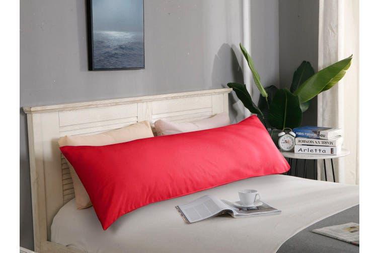 1000TC Premium Ultra Soft Body Pillowcase - Red