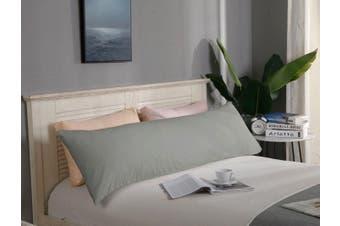 1000TC Premium Ultra Soft Body Pillowcase - Grey