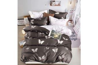 Butterfly Quilt/Doona/Duvet Cover Set (Super King Size) M418