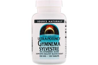 Source Naturals Ultra Potency Gymnema Sylvestre - 550mg, 120 Tablets