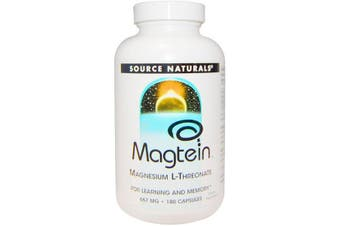 Source Naturals Magtein Magnesium L-Threonate - 667mg, 180 Capsules