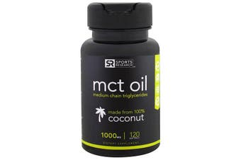 Sports Research MCT Oil - 1,000 mg, 120 Softgels
