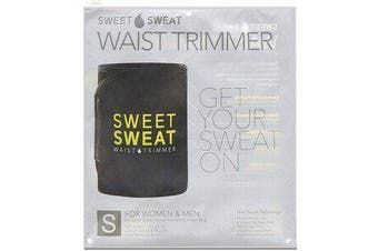 Sweet Sweat Waist Trimmer - Small, Black & Yellow