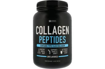 Sports Research Collagen Peptides Unflavored 907g