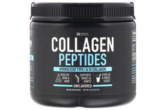 Sports Research Collagen Peptides Unflavored 110g