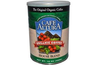 Cafe Altura, Organic Coffee, House Blend, 339 g