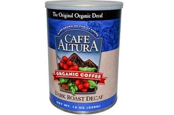 Cafe Altura, Organic Coffee, Dark Roast, Decaf, 339 g