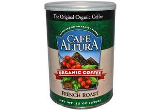 Cafe Altura, Organic Coffee, French Roast, 339 g