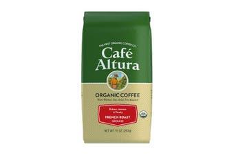 Cafe Altura, Organic Coffee, French Roast, Ground, 283 g