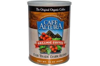 Cafe Altura, Organic Coffee, Fair Trade Dark Blend, 339 g