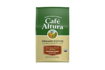 Cafe Altura, Organic Coffee, Viennese Blend, Dark Roast, Whole Bean, 567 g