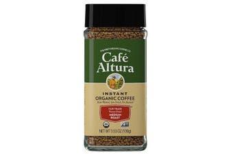 Cafe Altura, Instant Organic Coffee, Medium Roast, Freeze-Dried, 100 g