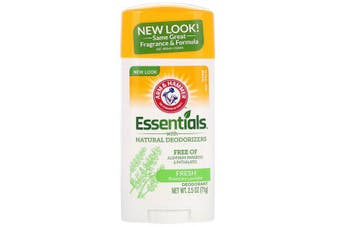 Arm & Hammer Essentials No Aluminium & Paraben Free with Natural Deodorizers Deodorant Fresh Rosemary Lavender 71g