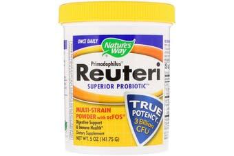 Nature's Way Primadophilus Reuteri Superior Probiotic Multi-Strain Powder with scFOS 141g