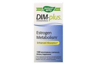 Nature's Way DIM plus Estrogen Metabolism Support 120 Vegetarian Capsules