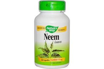 Natures Way - Neem Leaf, 475mg 100 Capsules