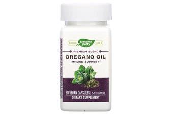 Nature's Way Premium Blend Oregano Oil Immune Support 60 Vegan Capsules