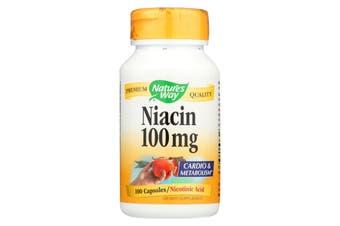 Nature's Way - Niacin, 100mg