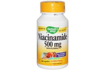Nature's Way - Niacinamide, 500mg