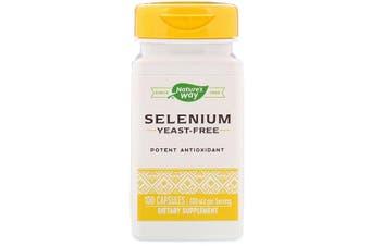 Nature's Way Selenium Potent Antioxidant - 200mcg, 100 Capsules