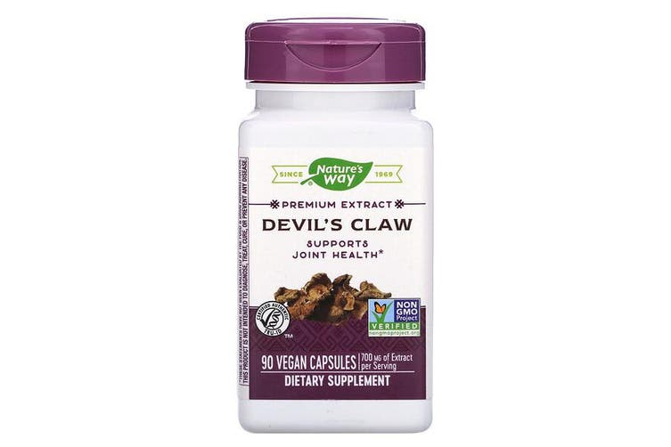 Nature's Way Devil's Claw Concentrated Root Extract Joint Mobility Support - 700mg, 90 Vegan Capsules