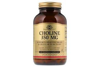 Solgar Choline Bitartate Healthy Brain & Cellular Function - 350mg, 100 Capsules