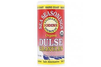 Maine Coast Sea Vegetables Organic Sea Seasonings Dulse Granules Iodine Rich Salt Alternative 43g