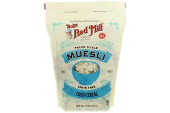 Bob's Red Mill Muesli Gluten & Grain Free Paleo Style Hot or Cold Cereal (397g)