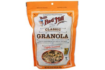 Bob's Red Mill Classic Granola Lightly Sweetened 100% Whole Grain (340g)