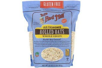 3x Bob's Red Mill Old Fashioned Rolled Oats - Whole Grain & Gluten Free
