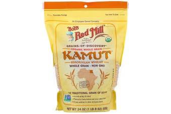 Bob's Red Mill Organic Kamut Whole Grain Khorosan Wheat (680g)