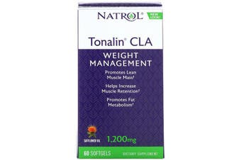 Natrol Tonalin CLA - 1,200 mg, 60 Softgels