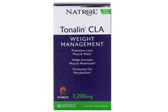Natrol Tonalin CLA - 1,200 mg, 90 Softgels