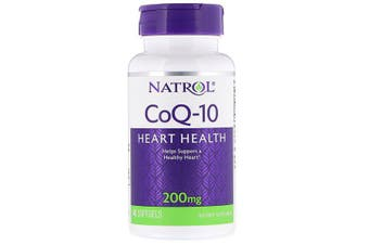Natrol CoQ-10 - 200mg, 45 Softgels