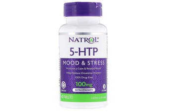 Natrol 5-HTP Time Release Extra Strength - 100mg, 45 Tablets