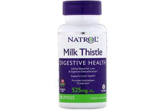 Natrol Milk Thistle - 525 mg, 60 Capsules