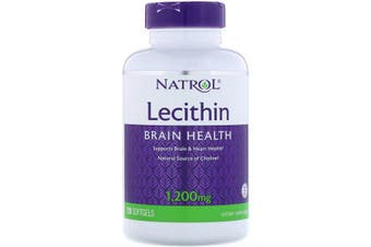 Natrol Lecithin 1,200 mg, 120 Softgels