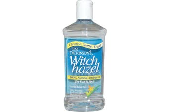 Dickinson Brands Witch Hazel For Hand Face & Body Wash Alcohol Based Cleaning Solution 473ml