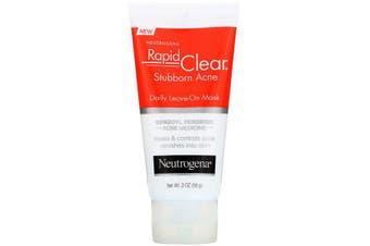 Neutrogena, Rapid Clear, Stubborn Acne, Daily Leave-On Mask, 56 g