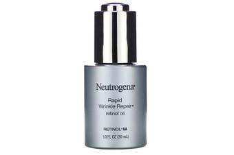 Neutrogena, Rapid Wrinkle Repair, Retinol Oil, 30 ml