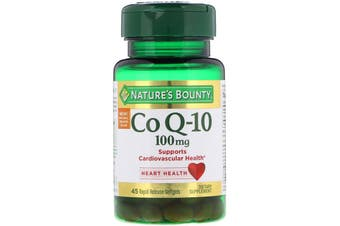 Nature's Bounty Co Q-10 100 mg - 45 Rapid Release Softgels