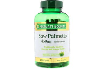 Nature's Bounty Saw Palmetto 450 mg - 250 Capsules
