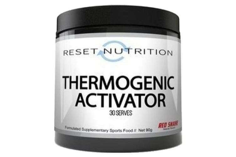 Reset Nutrition Thermogenic Activator Fat Burner Acetyl l Carnitine + Tartrate - Bubble Gum Grape, 30 Serves