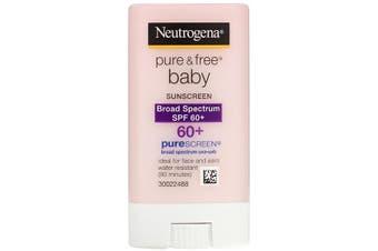 Neutrogena, Pure & Free Baby Sunscreen, SPF 60+, 13 g