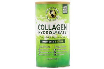 Great Lakes Collagen Hydrolysate Grass Fed & Pasture Raised Supports Joint Health & Recovery 454g